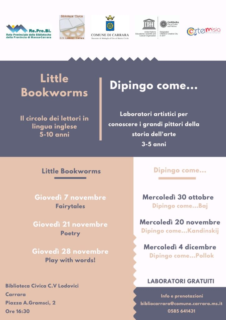Carrara Workshop Biblioteca Immagine